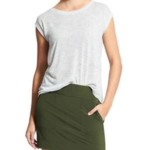 Athleta Breezy Striped Short Sleeve Tee